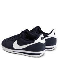 Niebieskie buty sportowe Nike Nike Cortez, z cholewką, na co dzień