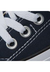Niebieskie trampki Converse z cholewką