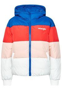 Kurtka zimowa Wrangler w kolorowe wzory