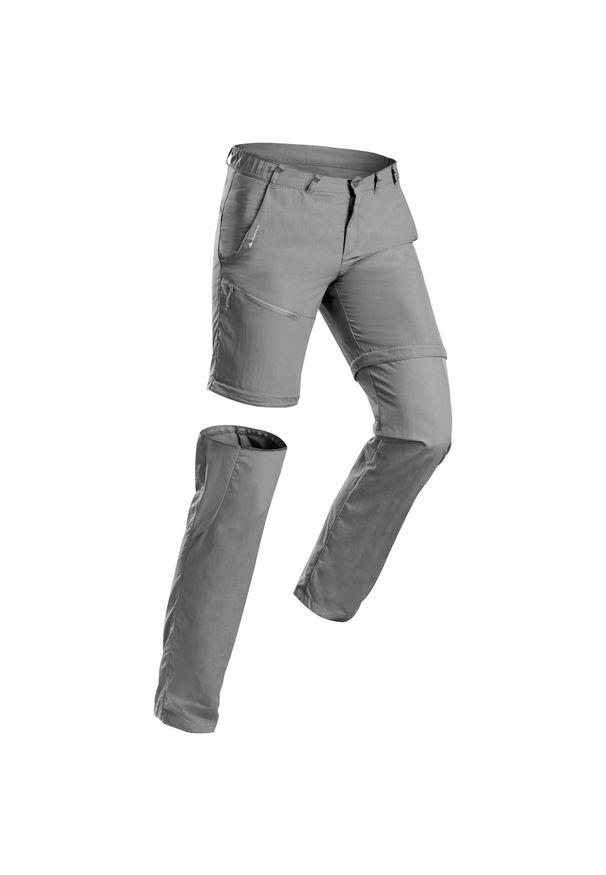 Spodnie trekkingowe quechua krótkie