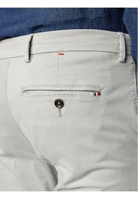 Tommy Hilfiger Tailored Spodnie materiałowe Flex Fks Washed TT0TT06987 Szary Slim Fit. Kolor: szary. Materiał: materiał