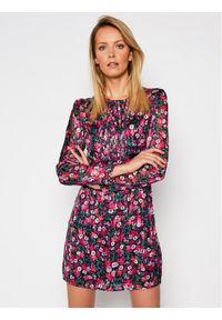 Guess Sukienka koktajlowa W1RK0O WDON2 Kolorowy Slim Fit. Wzór: kolorowy. Styl: wizytowy