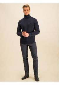 Baldessarini Spodnie materiałowe Jorck 16836/000/2298 Granatowy Regular Fit. Kolor: niebieski. Materiał: materiał #4
