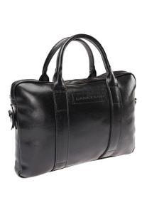 Czarna torba Lancerto casualowa