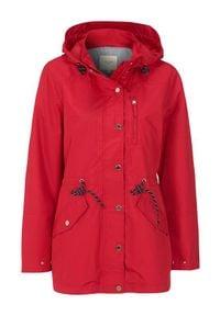 Cellbes Kurtka czerwony female czerwony 38/40. Kolor: czerwony. Materiał: materiał, tkanina. Wzór: paski