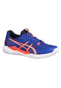 Buty do badmintona, squasha i sportów halowych damskie Asics GEL-TACTIC DIGITAL. Materiał: kauczuk, syntetyk