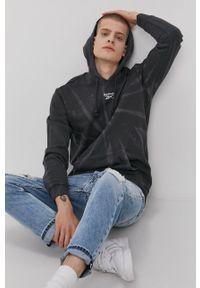 Reebok Classic - Bluza bawełniana. Kolor: czarny. Materiał: bawełna