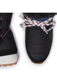 Czarne botki Pepe Jeans z cholewką