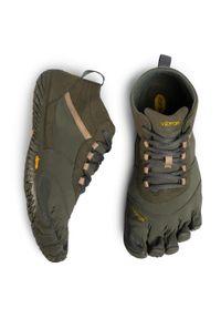 Zielone buty trekkingowe Vibram Fivefingers Vibram FiveFingers, z cholewką