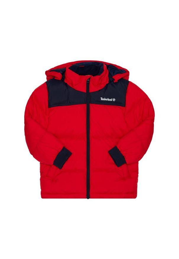 Czerwona kurtka zimowa Timberland