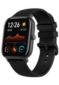 AMAZFIT - Amazfit smartwatch GTS, Obsidian Black. Rodzaj zegarka: smartwatch. Kolor: czarny. Styl: sportowy