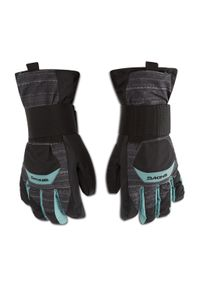 Dakine - Rękawice narciarskie DAKINE - Wristguard Glove 1300320 Quest. Kolor: szary. Materiał: poliester, guma, materiał