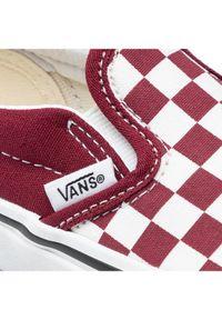 Vans Tenisówki Classic Slip-On Bordowy. Zapięcie: bez zapięcia. Kolor: czerwony. Model: Vans Classic