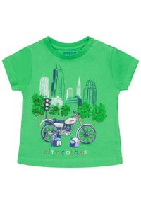 Zielony t-shirt Mayoral