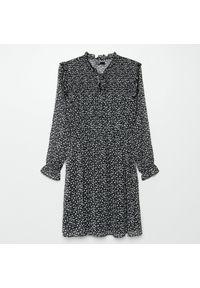 Czarna sukienka Cropp