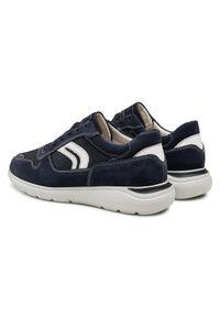 Geox Sneakersy U Sestiere C U029DC 02211 C4002 Granatowy. Kolor: niebieski #4