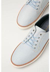 GANT - Gant - Tenisówki Prepville. Nosek buta: okrągły. Zapięcie: sznurówki. Kolor: niebieski. Materiał: guma