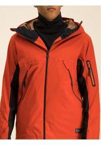 Pomarańczowa kurtka sportowa Billabong narciarska
