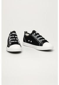 Big-Star - Big Star - Tenisówki. Nosek buta: okrągły. Kolor: czarny. Materiał: guma
