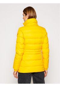 Żółta kurtka zimowa TOMMY HILFIGER