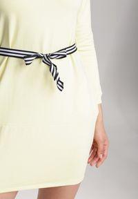 Renee - Żółta Sukienka Naumare. Kolor: żółty