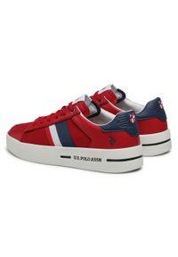 U.S. Polo Assn - Sneakersy U.S. POLO ASSN. - Vega141 VEGA4141S1/LT1 Red. Okazja: na co dzień. Kolor: czerwony. Materiał: skóra ekologiczna, materiał. Szerokość cholewki: normalna. Styl: casual, klasyczny #5