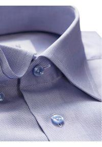 Fioletowa koszula biznesowa Eton
