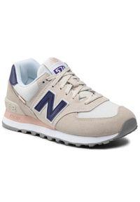 Beżowe sneakersy New Balance 574