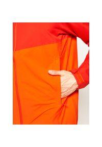 Pomarańczowa kurtka turystyczna salomon