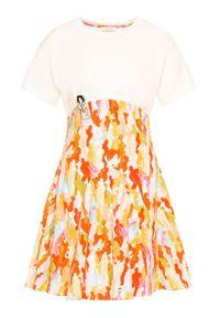 iBlues Sukienka codzienna Scorza 76210302 Biały Regular Fit. Okazja: na co dzień. Kolor: biały. Typ sukienki: proste. Styl: casual #2