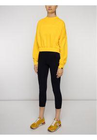 Napapijri Bluza Boa N0YINR Żółty Regular Fit. Kolor: żółty