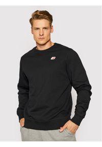 New Balance Bluza MT01661 Czarny Athletic Fit. Kolor: czarny