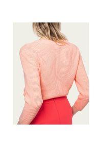 Różowy sweter Hugo