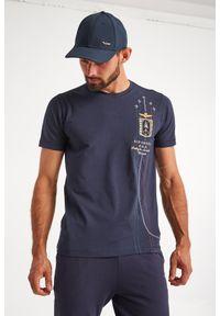 Aeronautica Militare - T-SHIRT AERONAUTICA MILITARE. Długość rękawa: krótki rękaw. Długość: krótkie. Wzór: haft