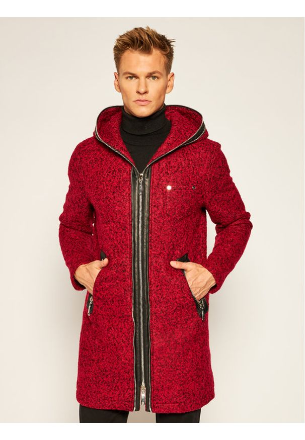 Czerwony płaszcz przejściowy Rage Age