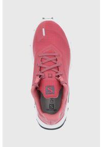 salomon - Salomon - Buty Alphacross 3. Nosek buta: okrągły. Zapięcie: sznurówki. Kolor: pomarańczowy. Materiał: guma