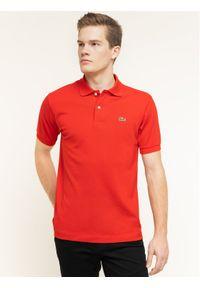 Czerwona koszulka polo Lacoste polo