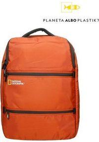 Czerwony plecak na laptopa National Geographic