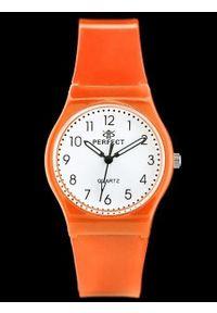 Pomarańczowy zegarek Perfect