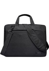 Czarna torba na laptopa NoName