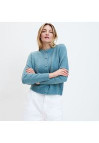 Niebieski sweter Mohito