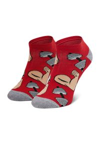 Czerwone skarpetki Freak Feet