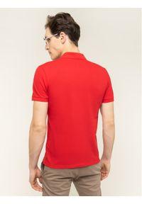 Baldessarini Polo Pino Nos 47408/000/5346 Czerwony Slim Fit. Typ kołnierza: polo. Kolor: czerwony