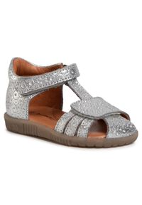 Srebrne sandały Bundgaard na lato
