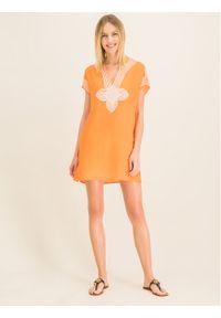 Pomarańczowa tunika Tory Burch