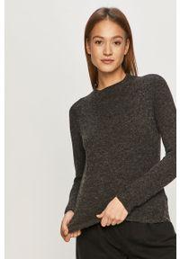 Czarny sweter only z długim rękawem, casualowy