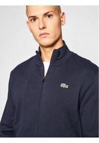 Lacoste Bluza SH1559 Granatowy Regular Fit. Kolor: niebieski