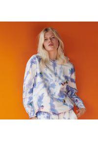 Reserved - Bluza tie-dye z bawełny organicznej - Wielobarwny. Materiał: bawełna
