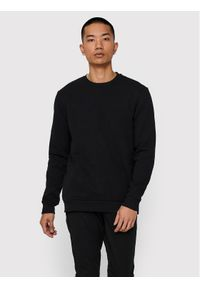 Only & Sons - ONLY & SONS Bluza Ceres Life Crew 22018683 Czarny Regular Fit. Kolor: czarny