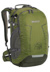 Zielony plecak Boll retro